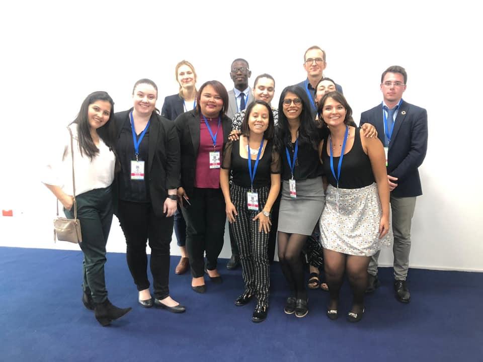 Cecilie Kern rappresenta l'Ufficio Internazionale Giustizia e Pace al Global Forum su immigrazione e sviluppo a Quito, Ecuador