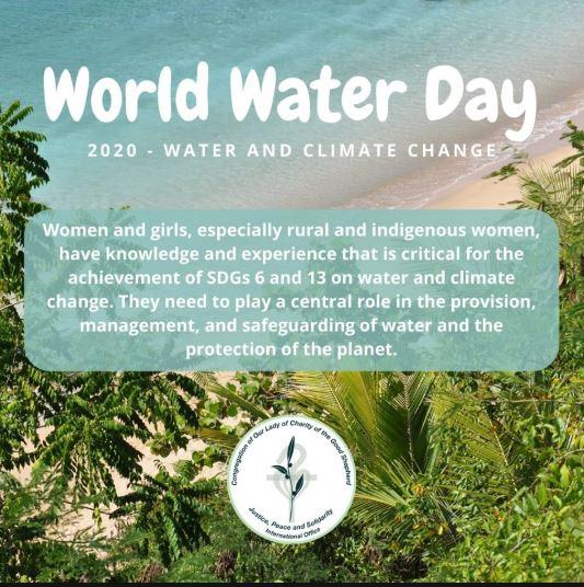 L'Ufficio Internazionale Giustizia e Pace ci ricorda la Giornata Mondiale dell'acqua
