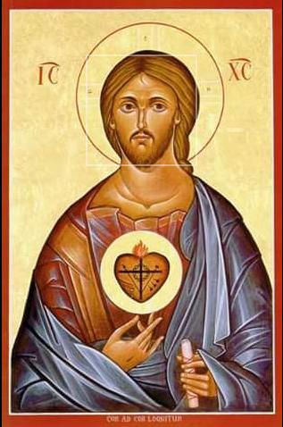 """Cuore di Gesù """"principio di tutti i miei pensieri, parole e azioni"""""""