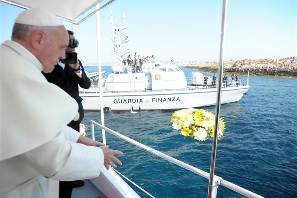 Anniversario della visita di Papa Francesco a Lampedusa 8 luglio 2013