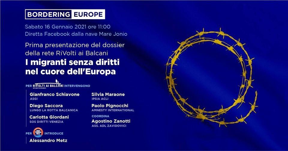 Continua la catastrofe umanitaria nel cuore dell'Europa per i migranti senza diritti